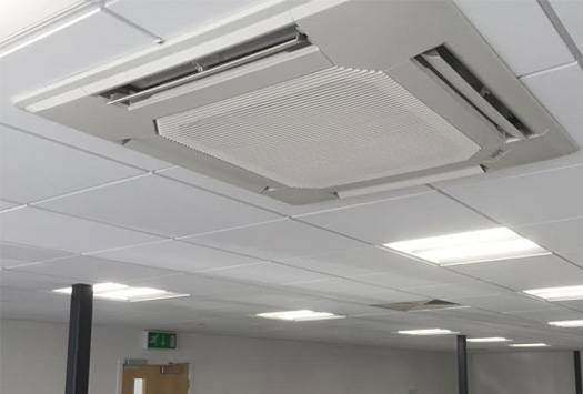 Air conditioning for property maintenance company