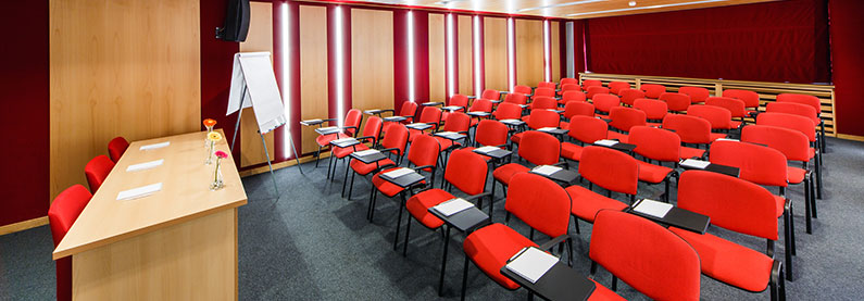 Air conditioning for classrooms and lecture halls