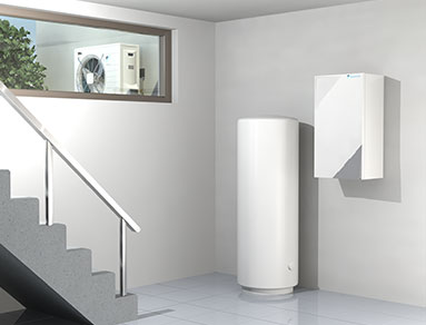Air Source Heat Pumps installation